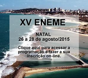 XV  ENEME EM NATAL - RN
