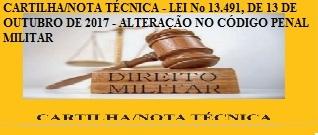 CARTILHA/NOTA TÉCNICA - LEI No 13.491, DE 13 DE OUTUBRO DE 2017 - ALTERA&