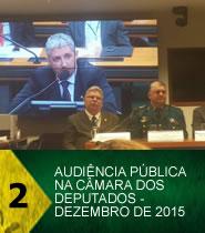 AUDI�NCIA P�BLICA NA C�MARA DOS DEPUTADOS - DEZEMBRO DE 2015